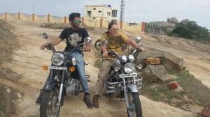 Brie Austin in India